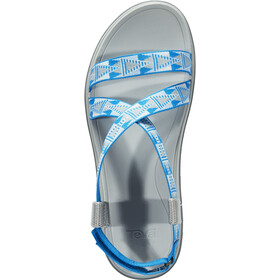 Teva Terra-Float Livia Chaussures Femme, grey/blue